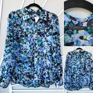 🛍Large blouse. new condition gorgeous pattern